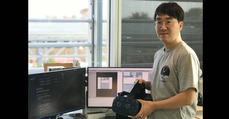 Hero image for researcher Dr Sungchul Jung SfTI
